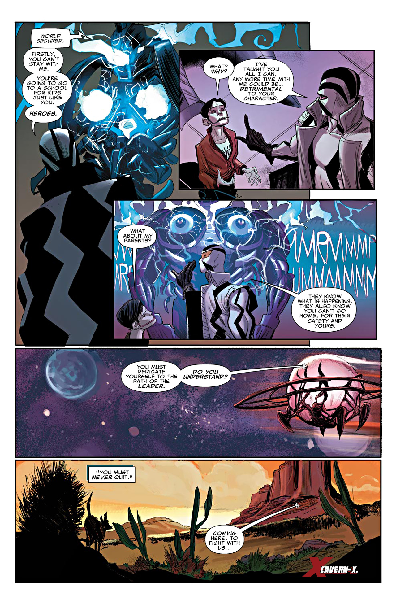 Read online Uncanny X-Force (2010) comic -  Issue #19 - 6