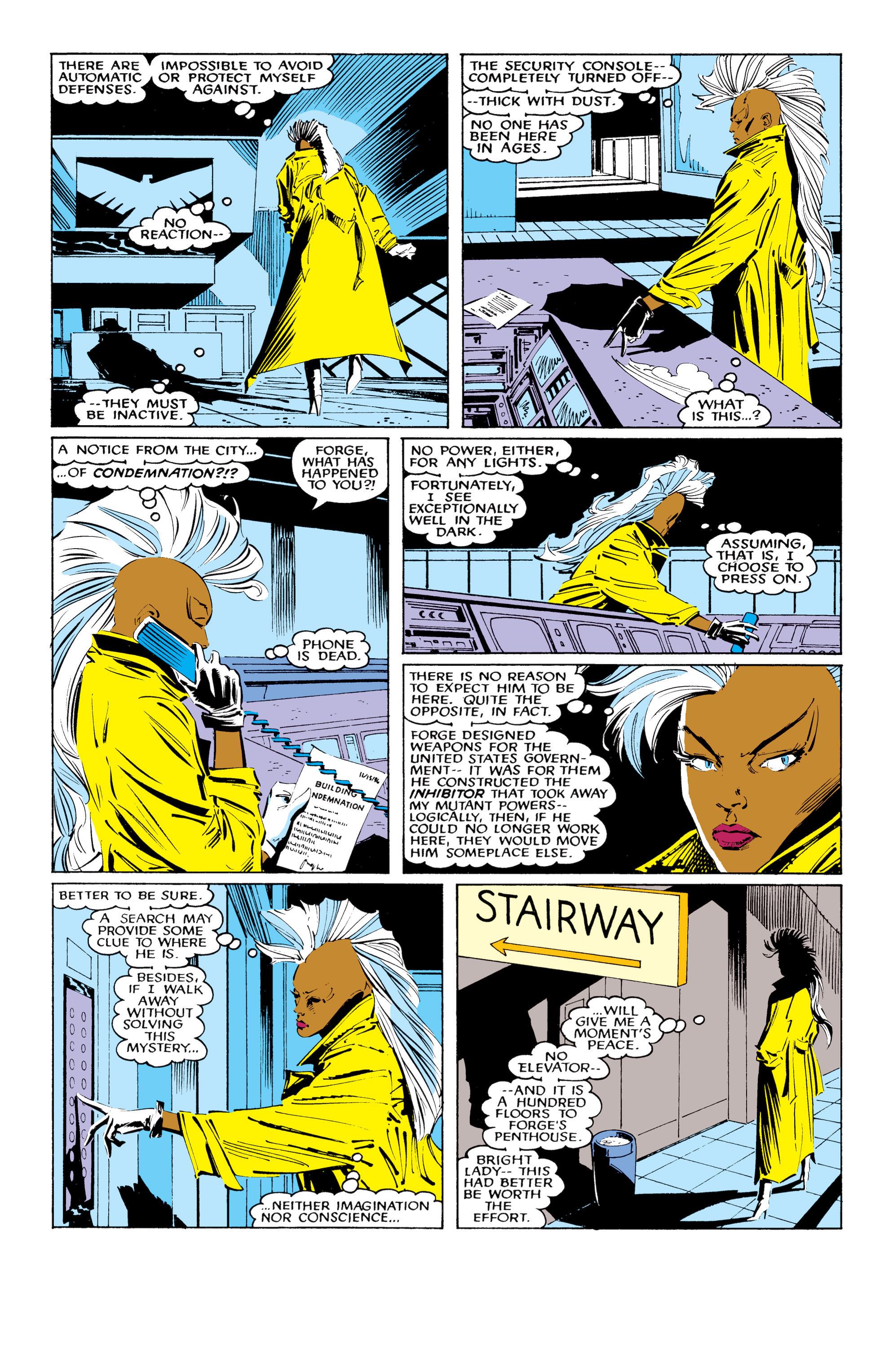 Read online Uncanny X-Men (1963) comic -  Issue #220 - 9