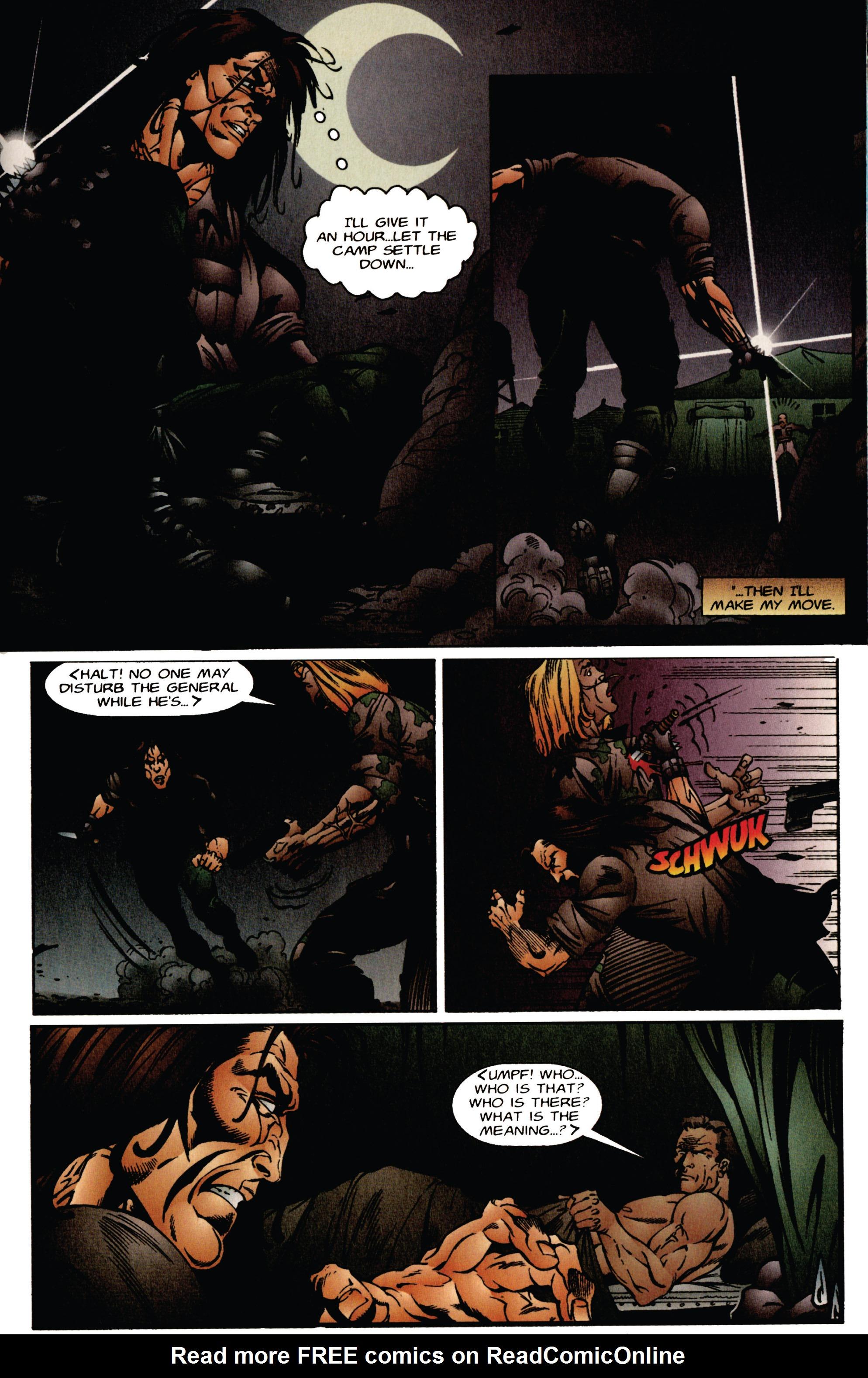 Read online Eternal Warrior (1992) comic -  Issue #41 - 15