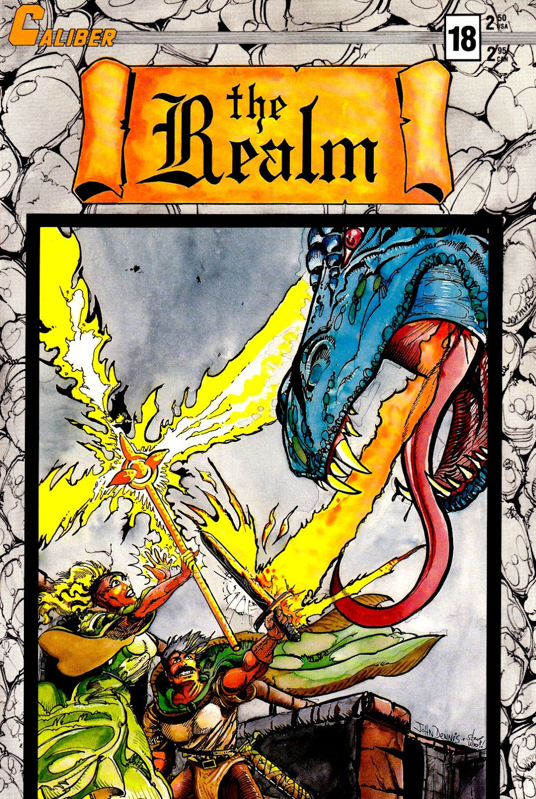 The Realm (1986) issue 18 - Page 1