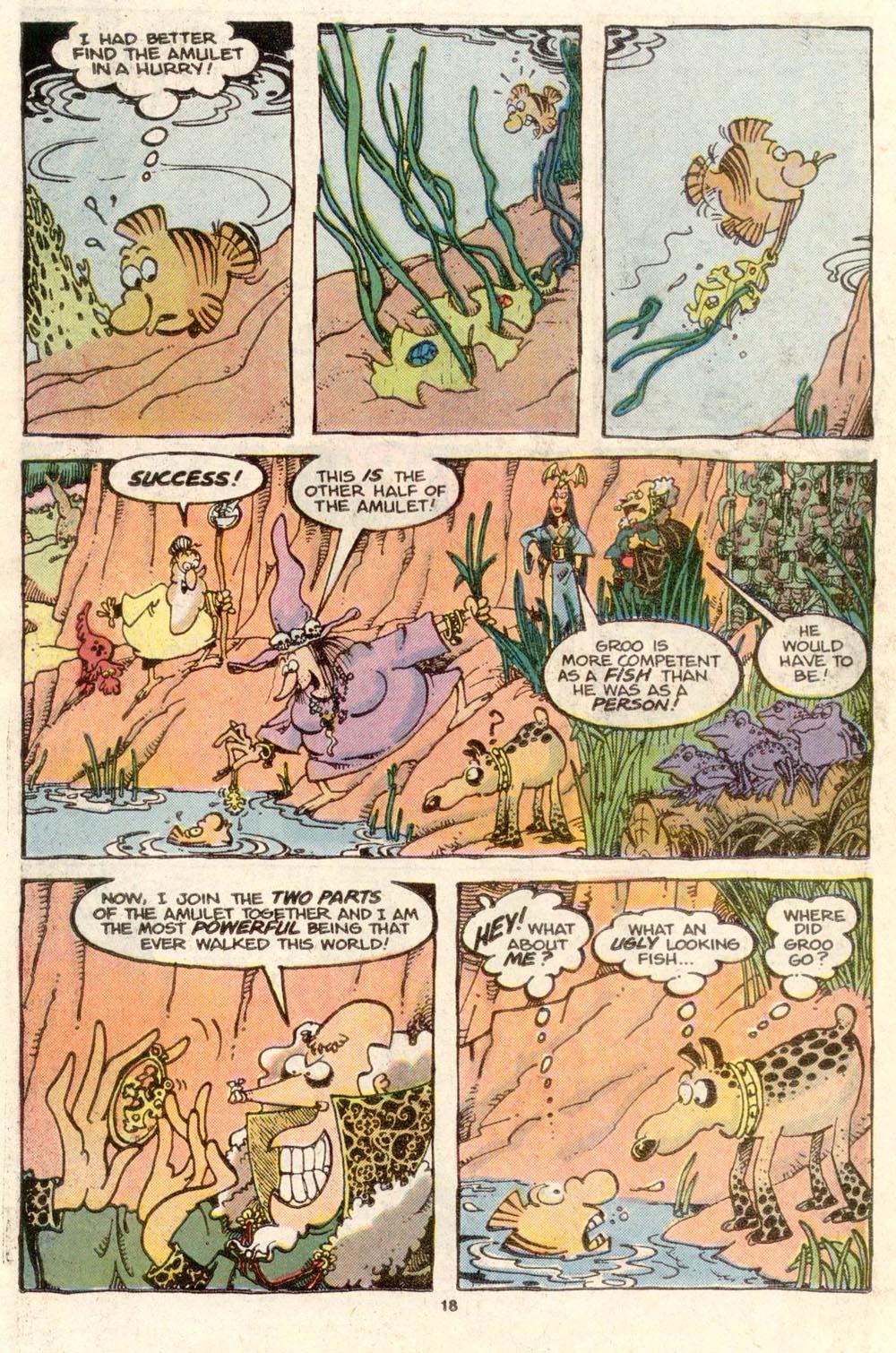 Read online Sergio Aragonés Groo the Wanderer comic -  Issue #34 - 18