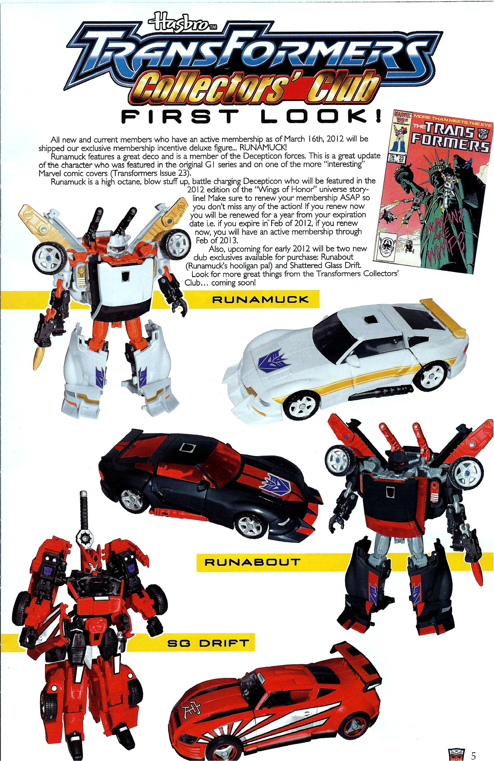 Read online Transformers: Collectors' Club comic -  Issue #41 - 5