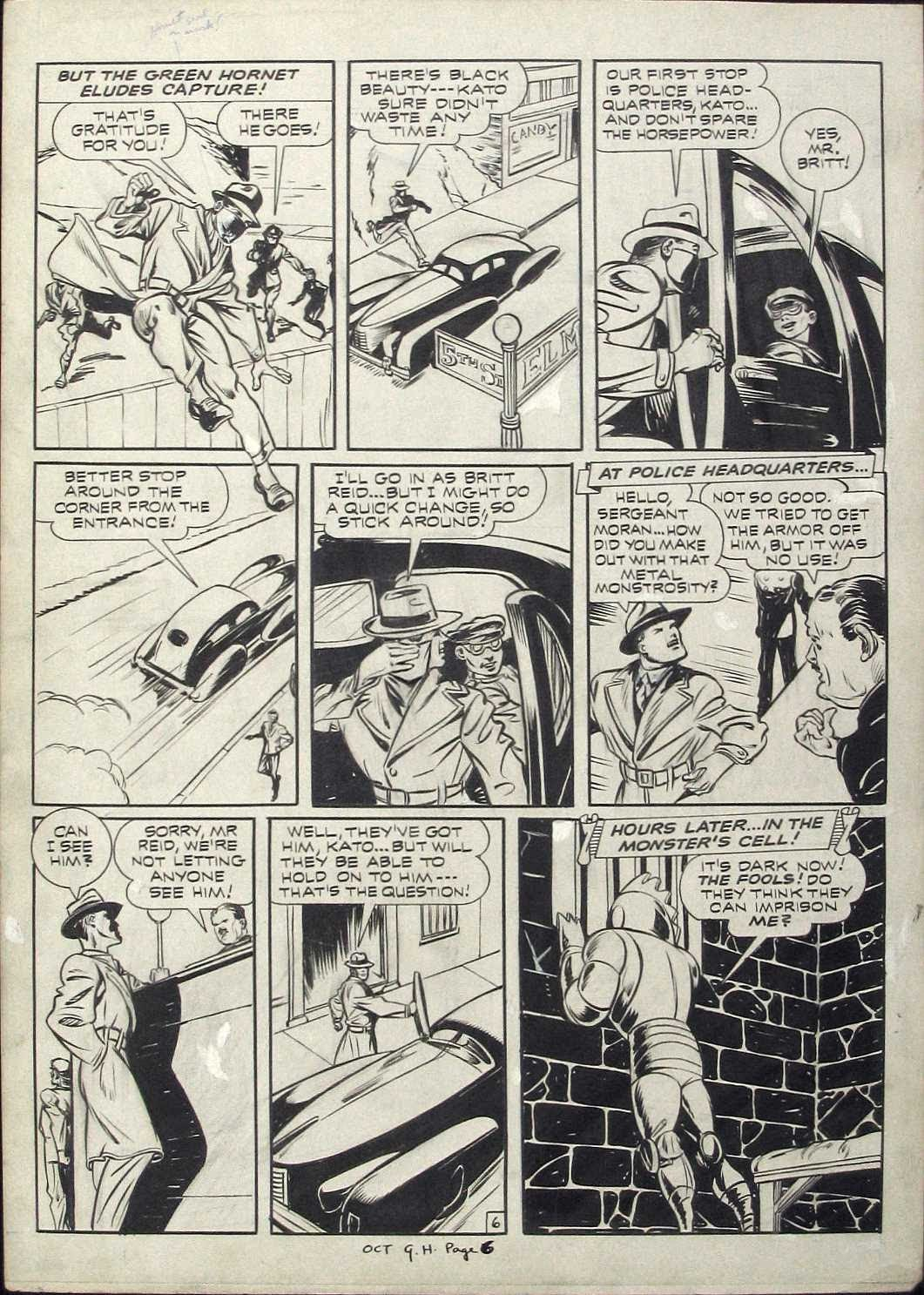 Green Hornet Comics issue 9 - Page 6