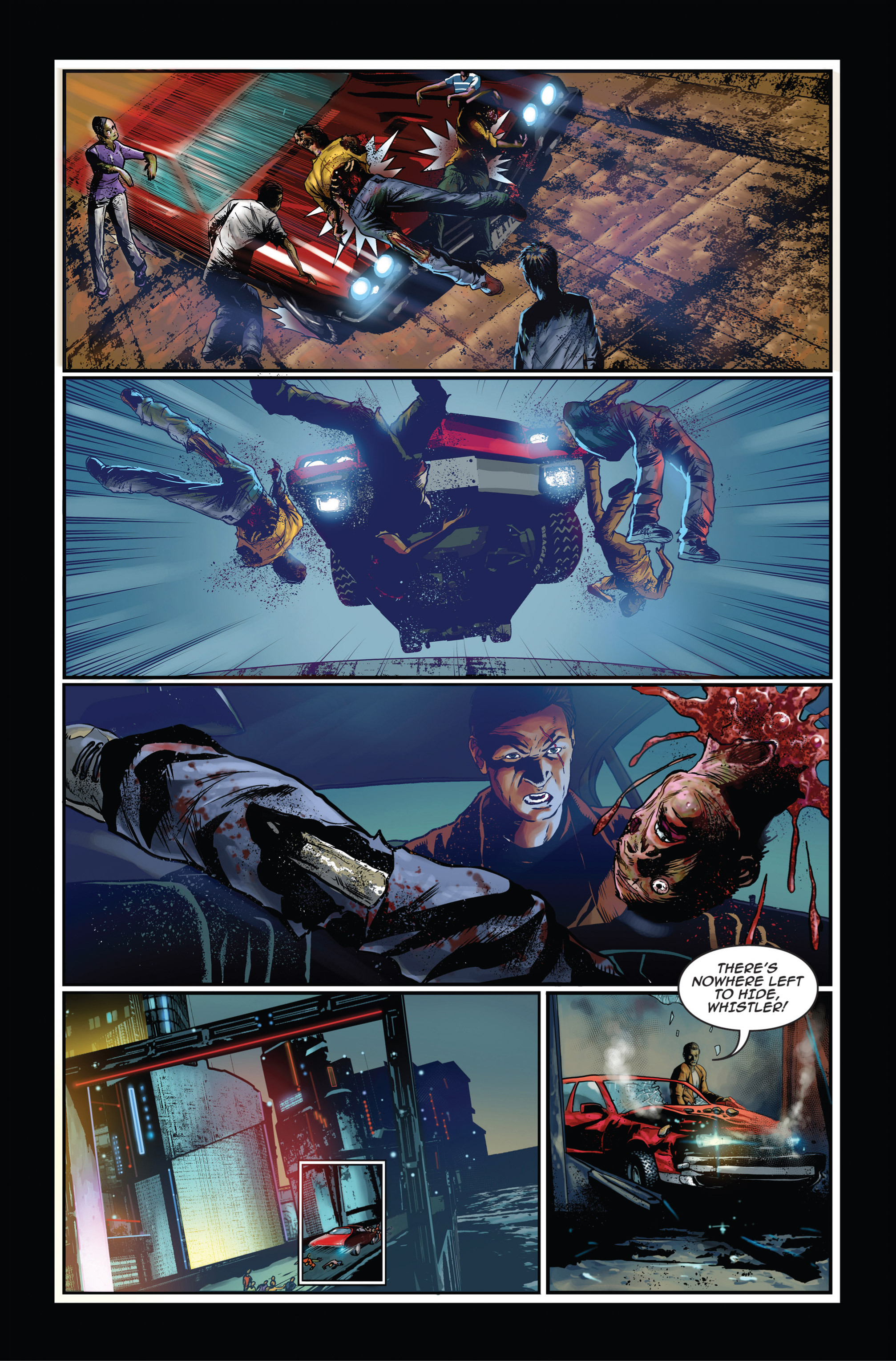 Read online Trancers comic -  Issue #1 - 8