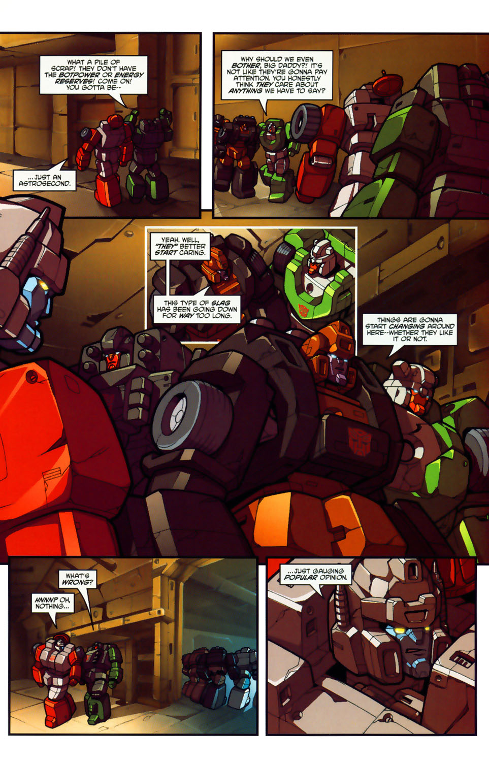 Read online Transformers: Micromasters comic -  Issue #1 - 13