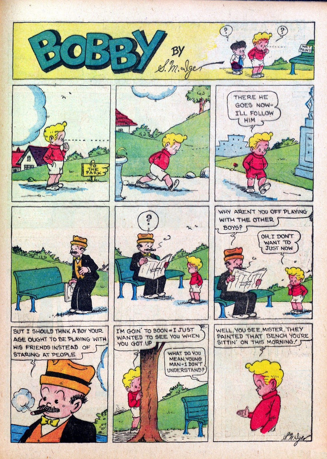 Read online Famous Funnies comic -  Issue #27 - 49
