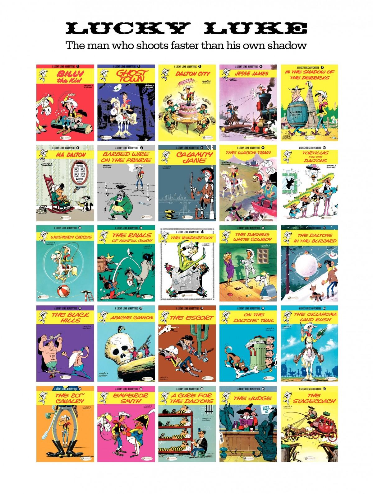 Read online A Lucky Luke Adventure comic -  Issue #53 - 47
