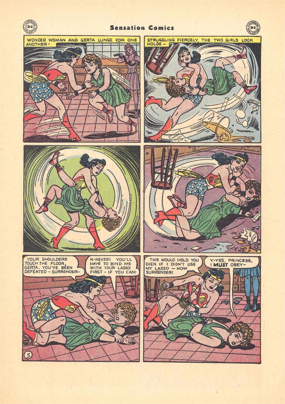 Sensation (Mystery) Comics issue 55 - Page 7