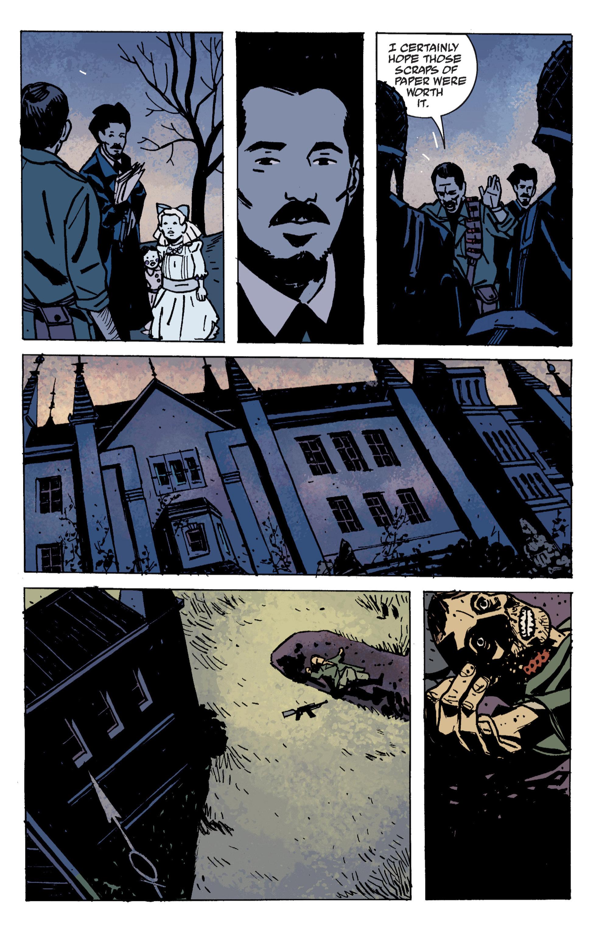 Read online B.P.R.D. (2003) comic -  Issue # TPB 9 - 83