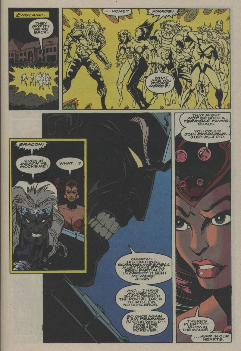 Excalibur (1988) issue Annual 1 - Page 41