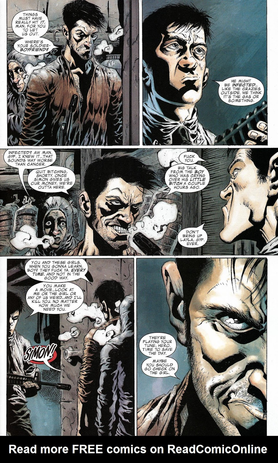 Read online Zombie (2006) comic -  Issue #2 - 17