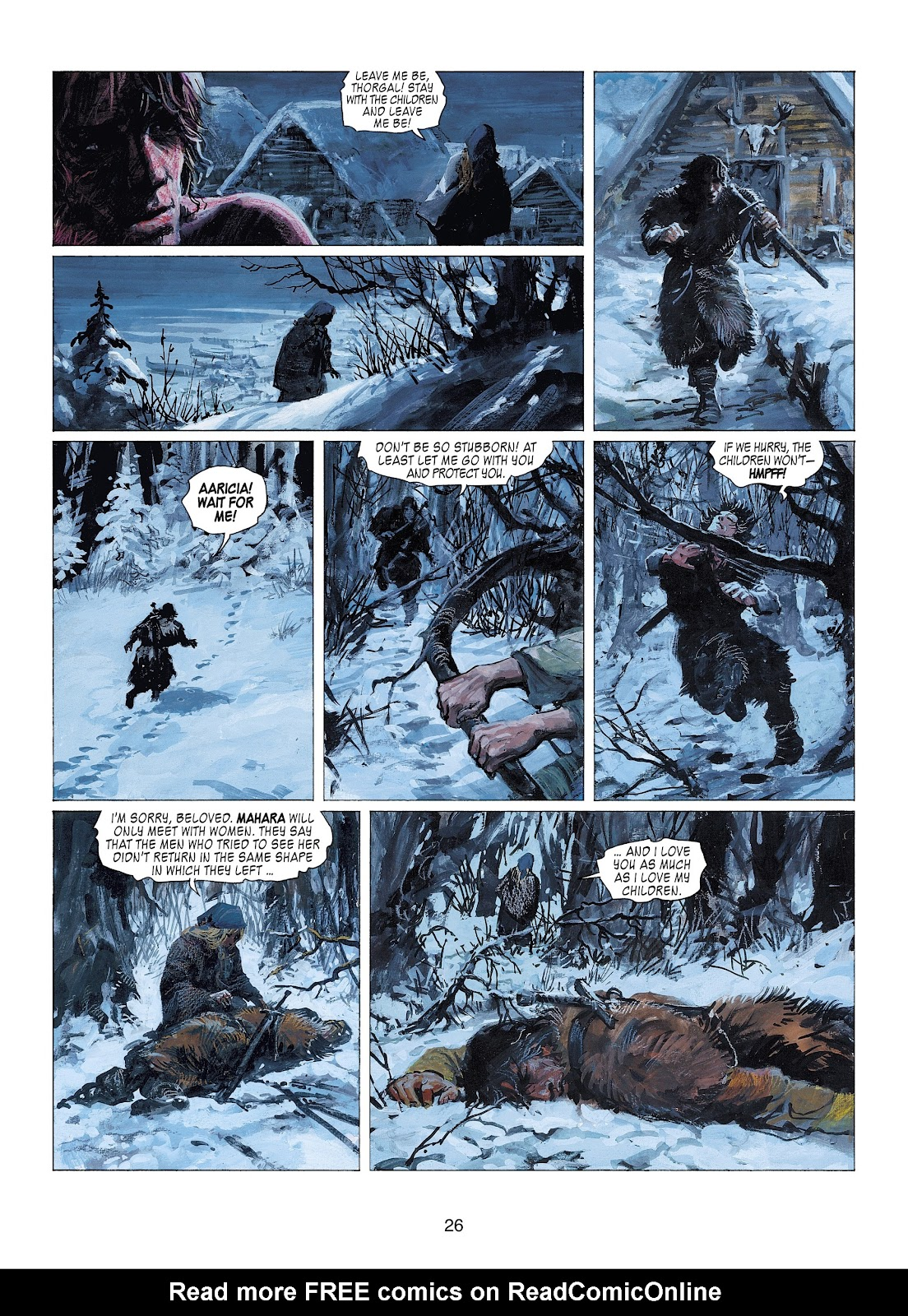 Read online Thorgal comic -  Issue #22 - 28