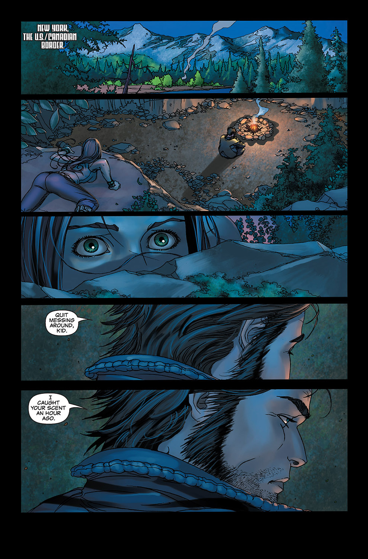 Read online X-23: Target X comic -  Issue #6 - 5