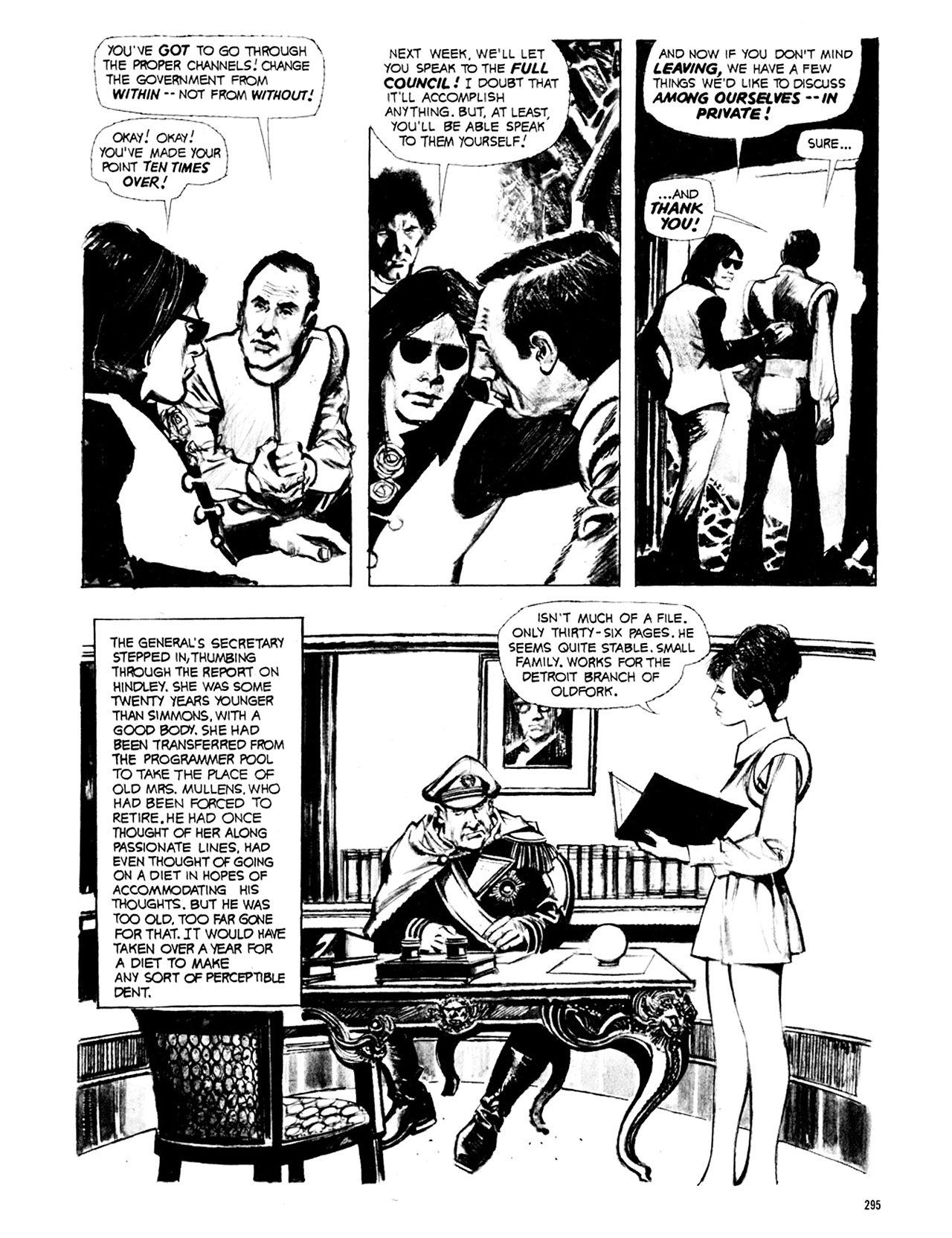 Read online Eerie Archives comic -  Issue # TPB 8 - 296