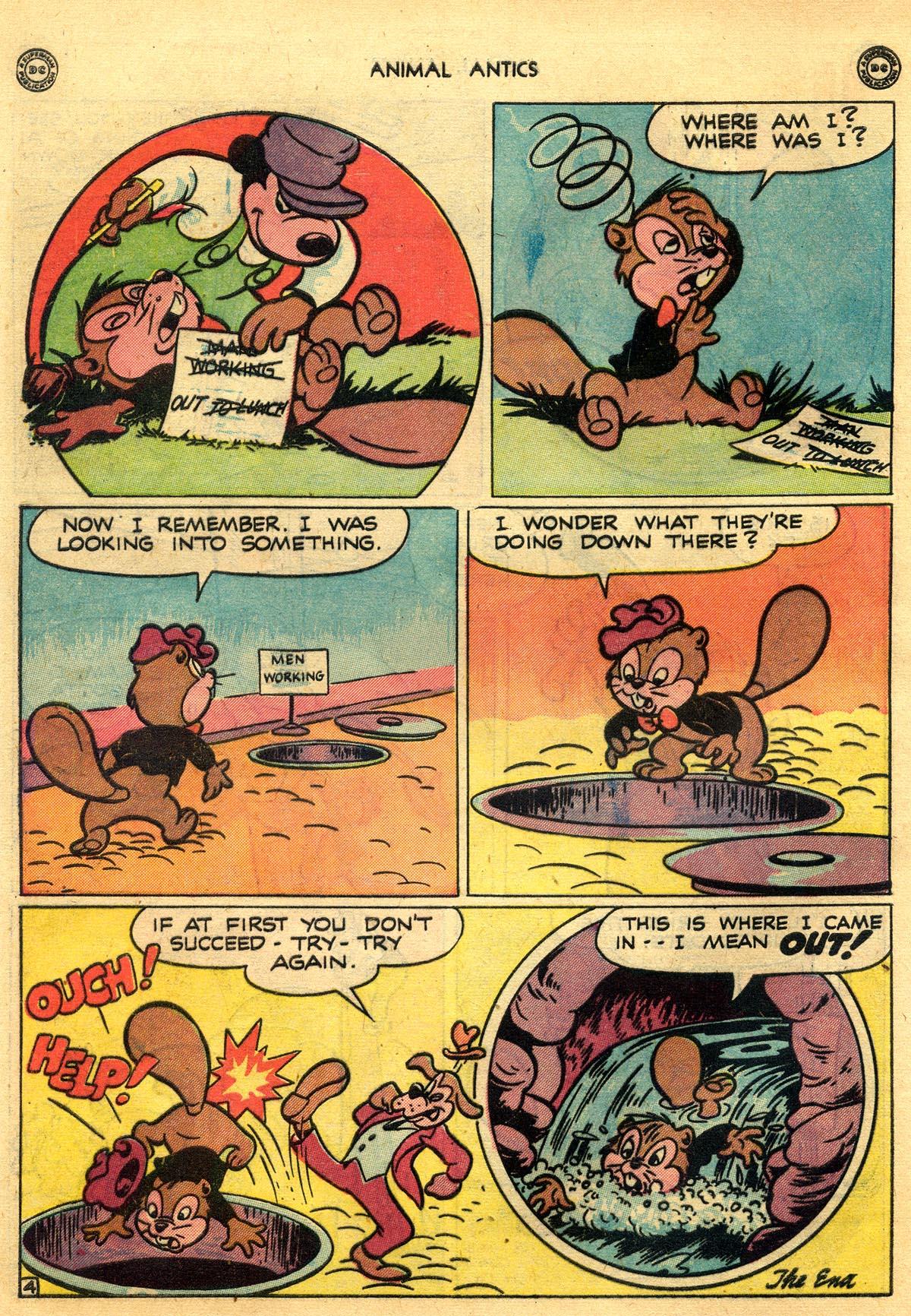 Read online Animal Antics comic -  Issue #10 - 42
