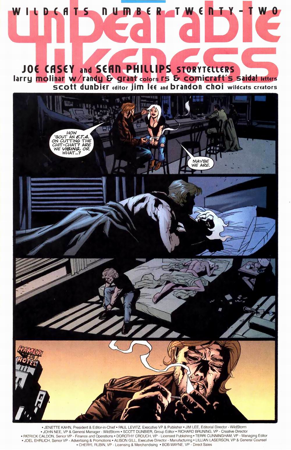 Wildcats (1999) Issue #22 #23 - English 5