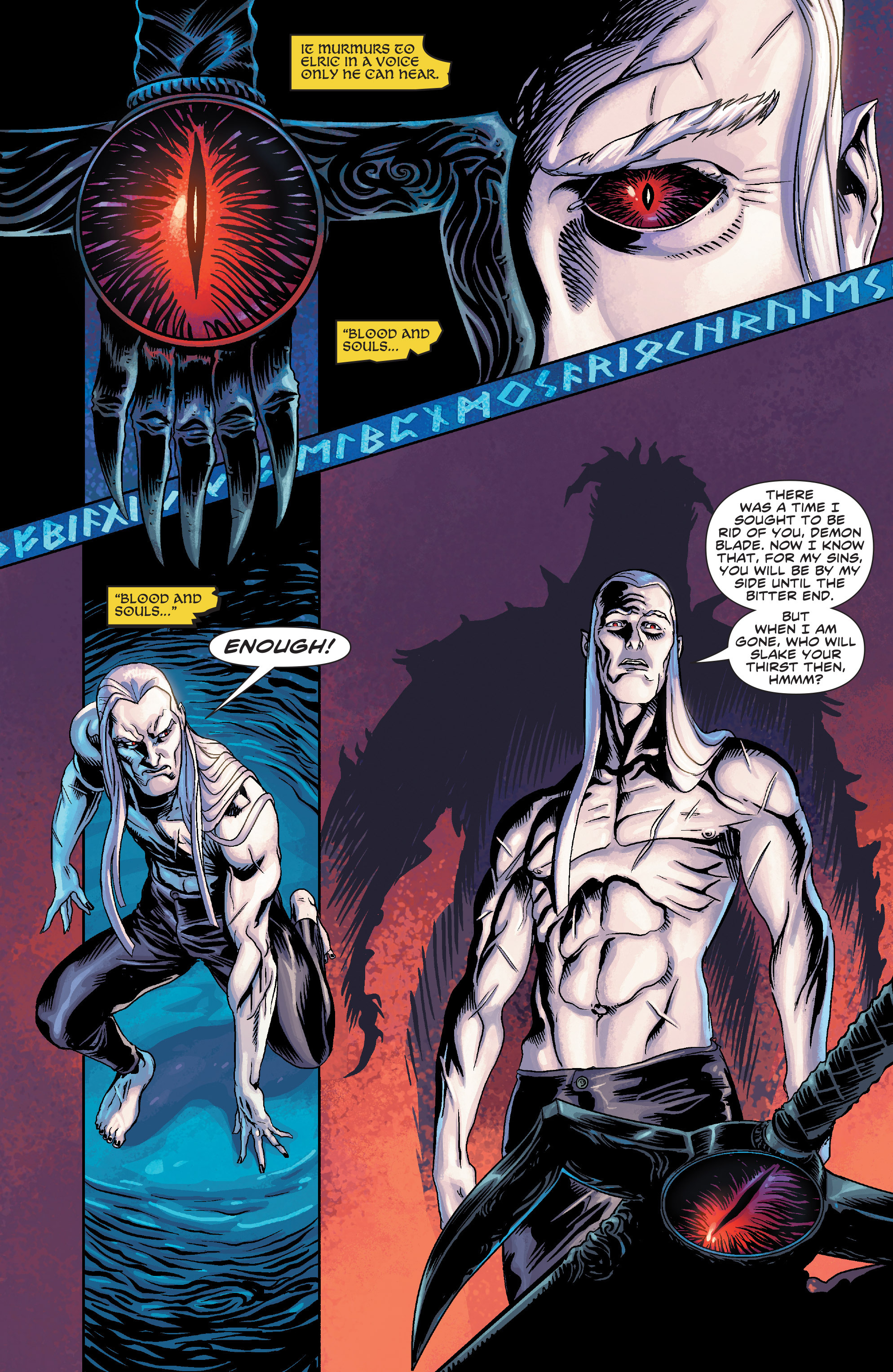 Read online Elric: The Balance Lost comic -  Issue # TPB 3 - 15