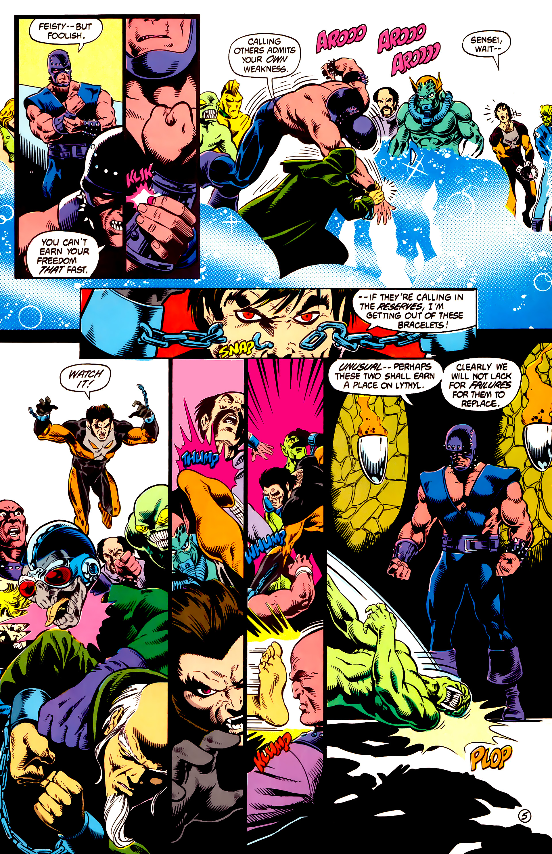 Legion of Super-Heroes (1984) 13 Page 6