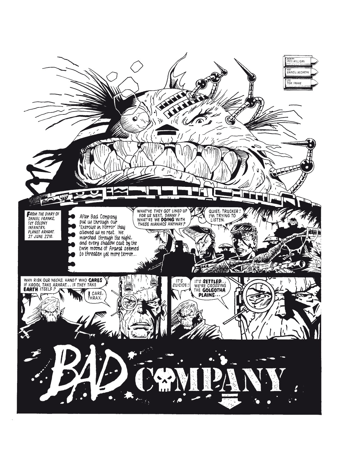 Read online The Complete Bad Company comic -  Issue # TPB - 23