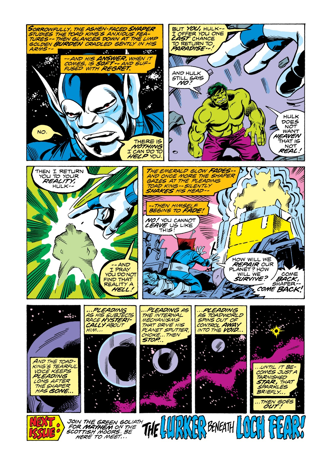 Read online Marvel Masterworks: The Incredible Hulk comic -  Issue # TPB 11 (Part 2) - 57