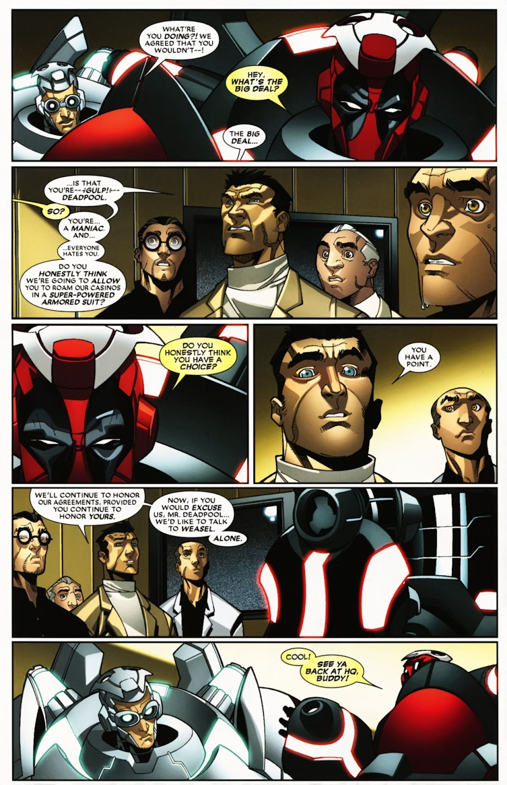 Read online Deadpool (2008) comic -  Issue #24 - 6