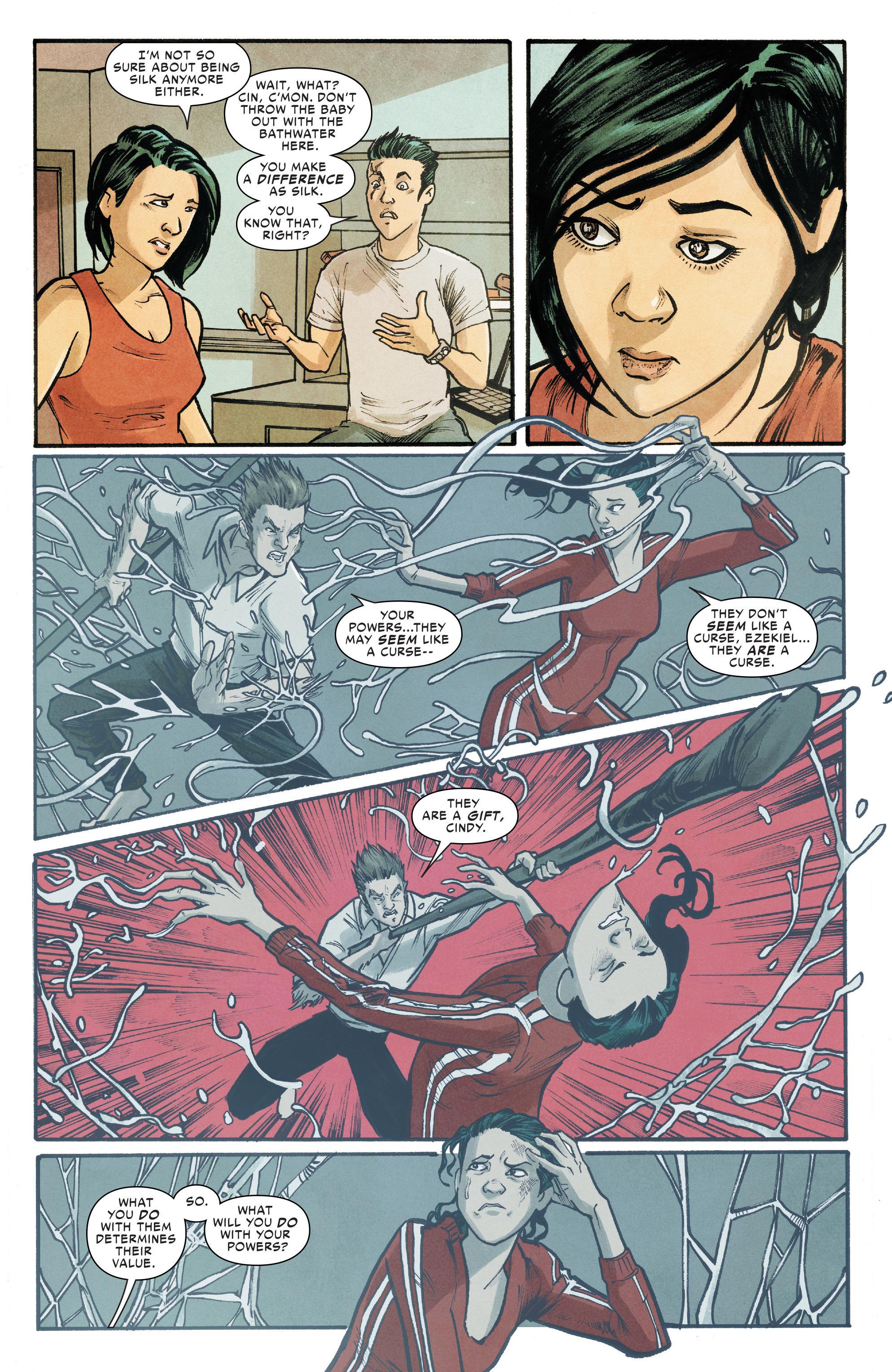 Read online Silk (2016) comic -  Issue #18 - 14