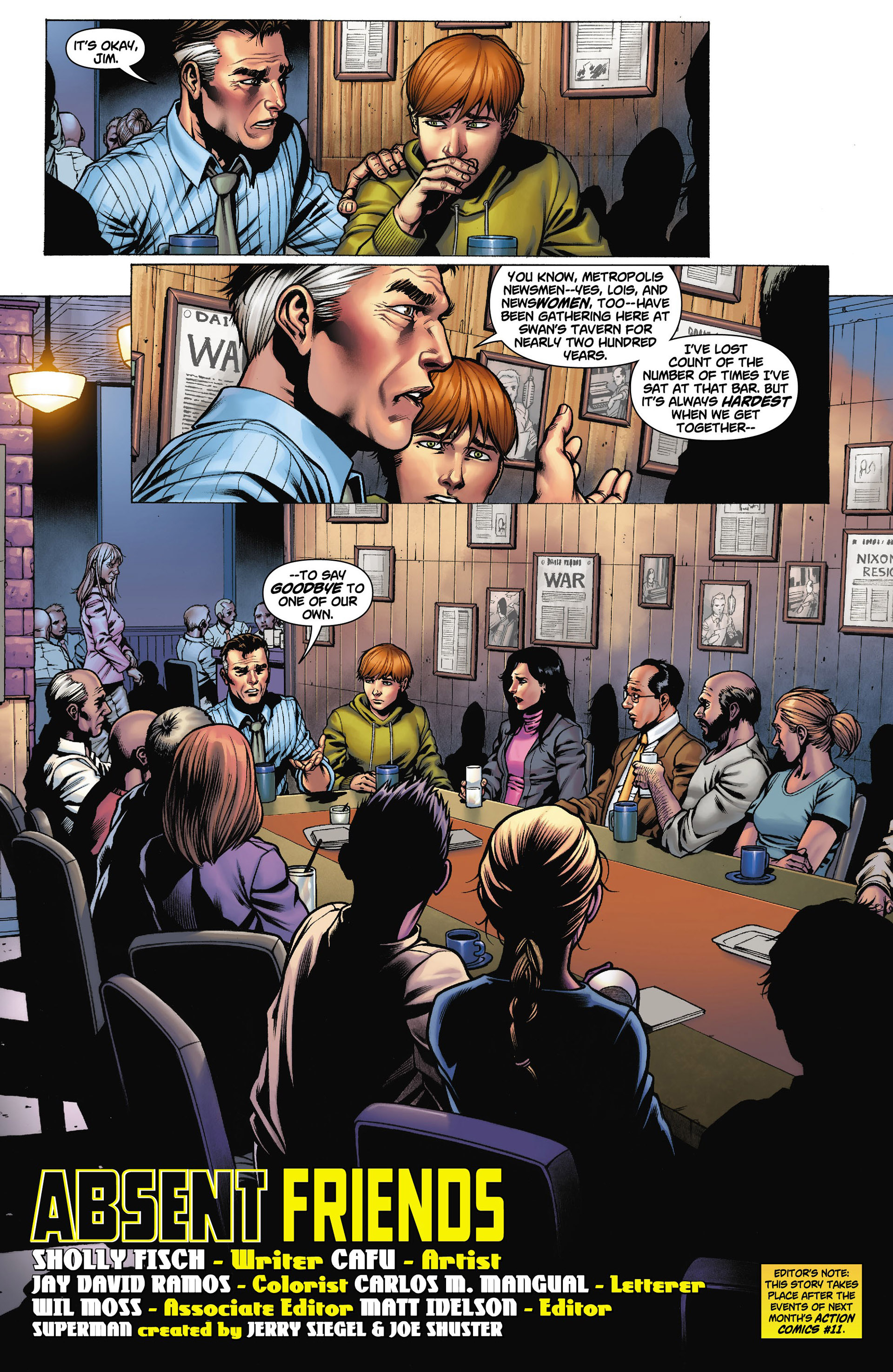 Read online Action Comics (2011) comic -  Issue #10 - 23