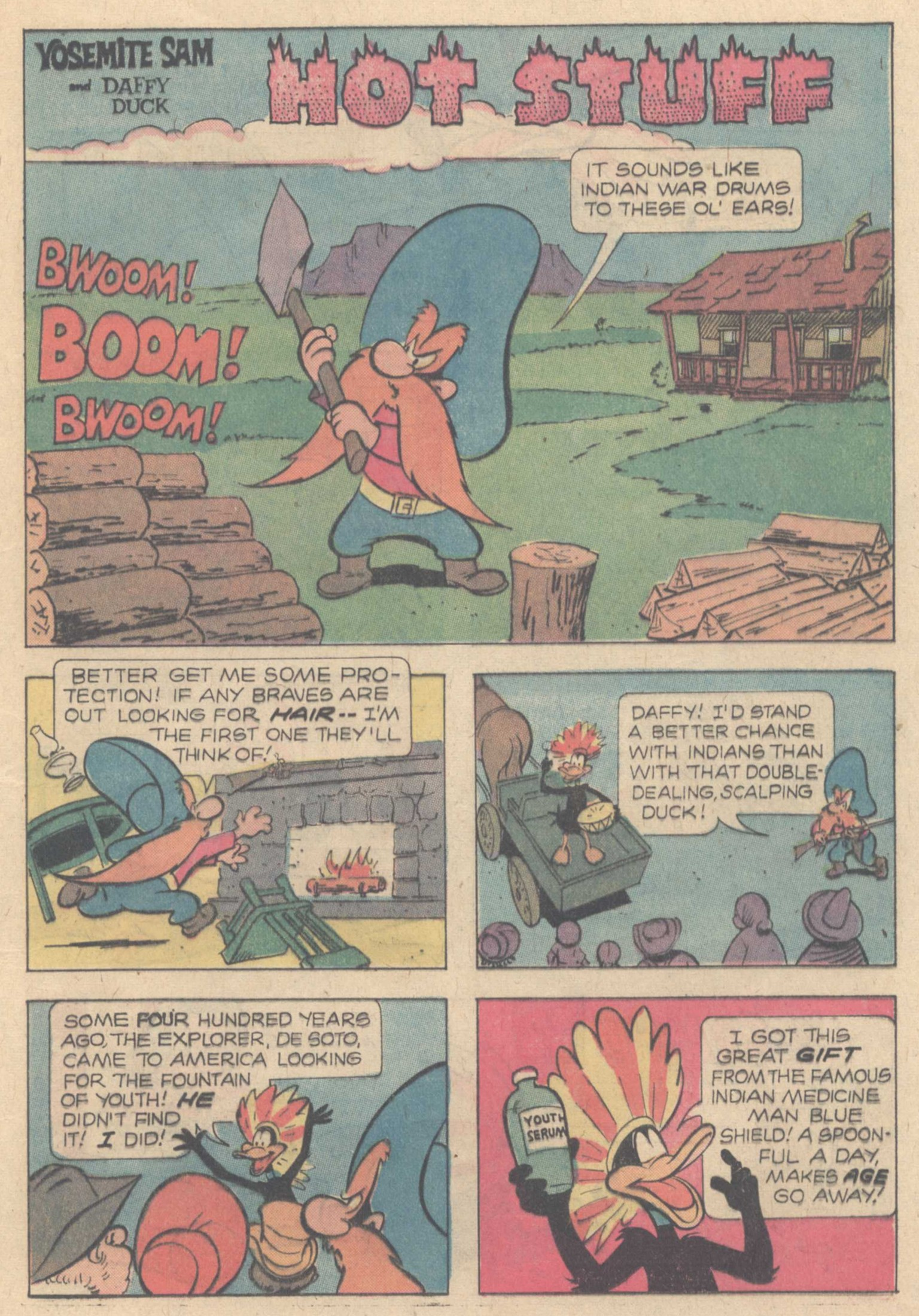 Yosemite Sam and Bugs Bunny Issue 29 | Viewcomic reading