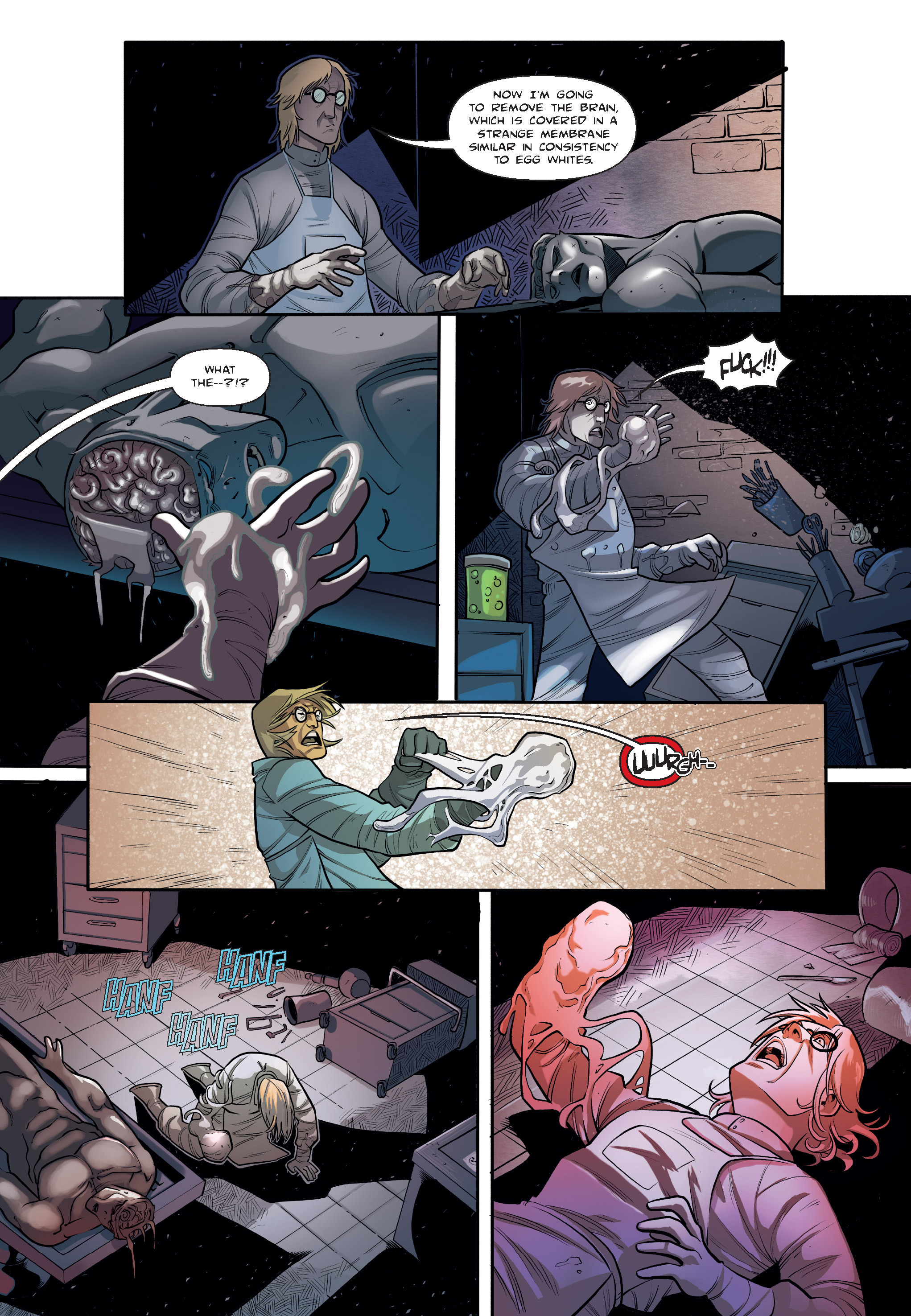 Read online The Shadow of a Terrible Thing comic -  Issue # TPB - 34