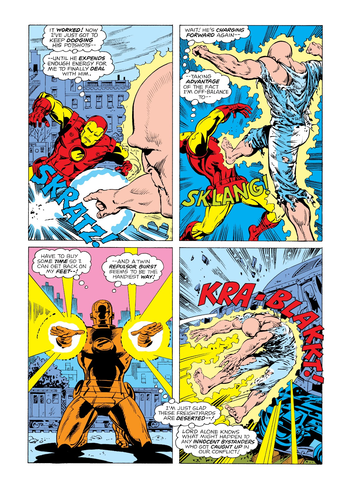 Read online Marvel Masterworks: The Invincible Iron Man comic -  Issue # TPB 11 (Part 1) - 79