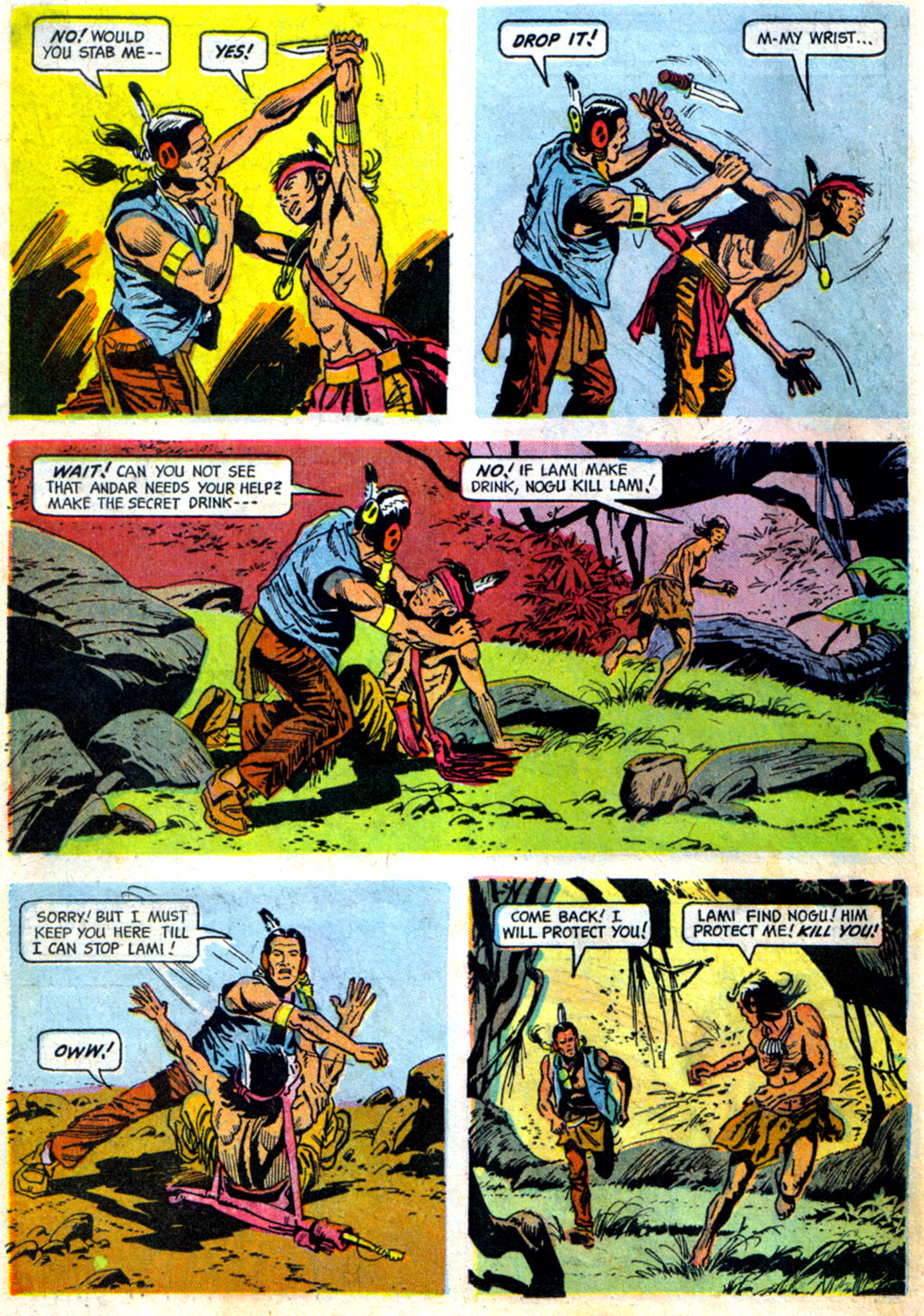 Read online Turok, Son of Stone comic -  Issue #62 - 26