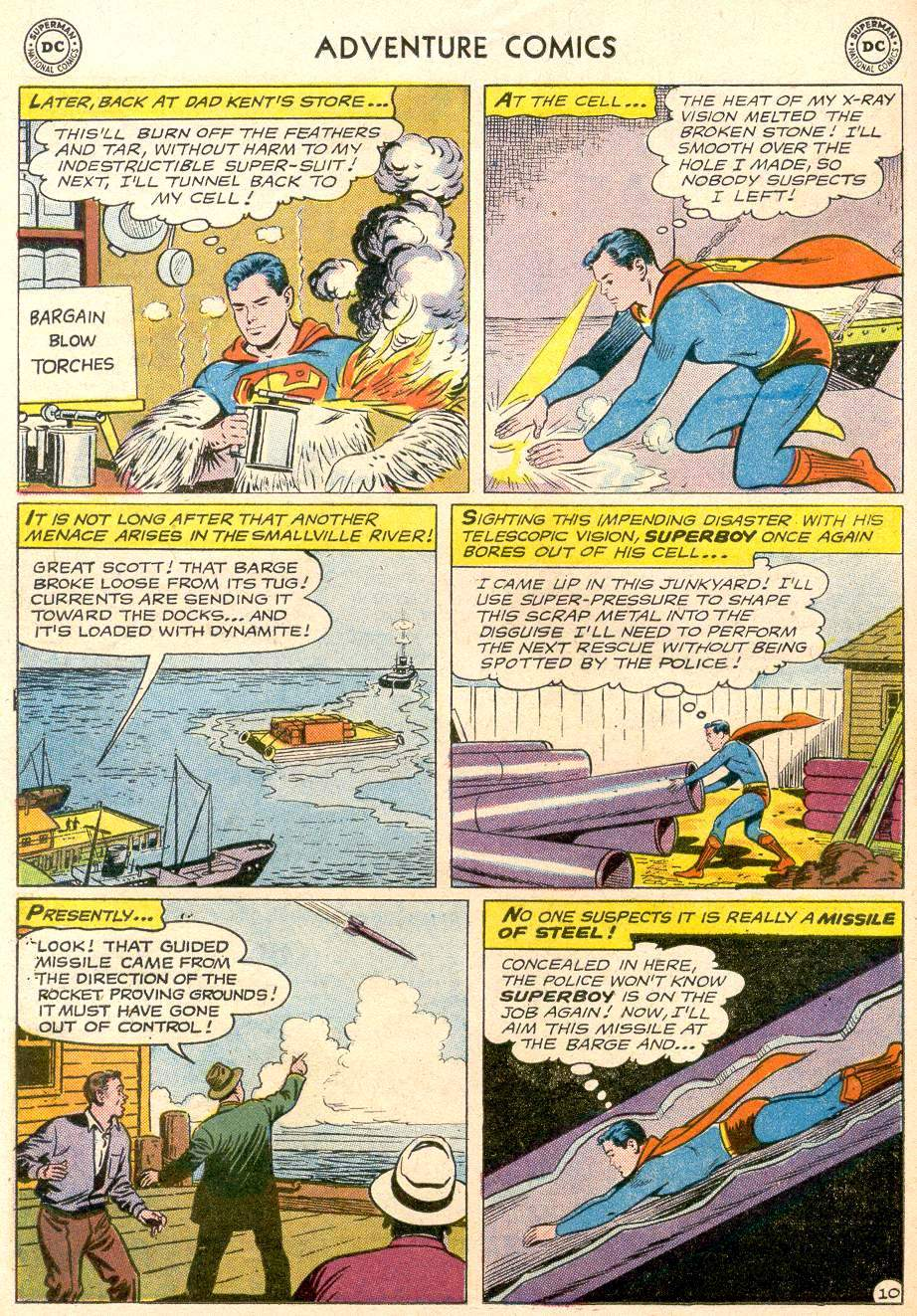 Read online Adventure Comics (1938) comic -  Issue #256 - 12