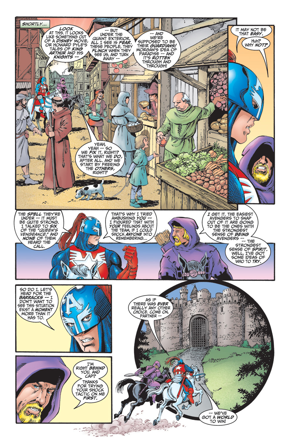 Read online Avengers (1998) comic -  Issue #2 - 10