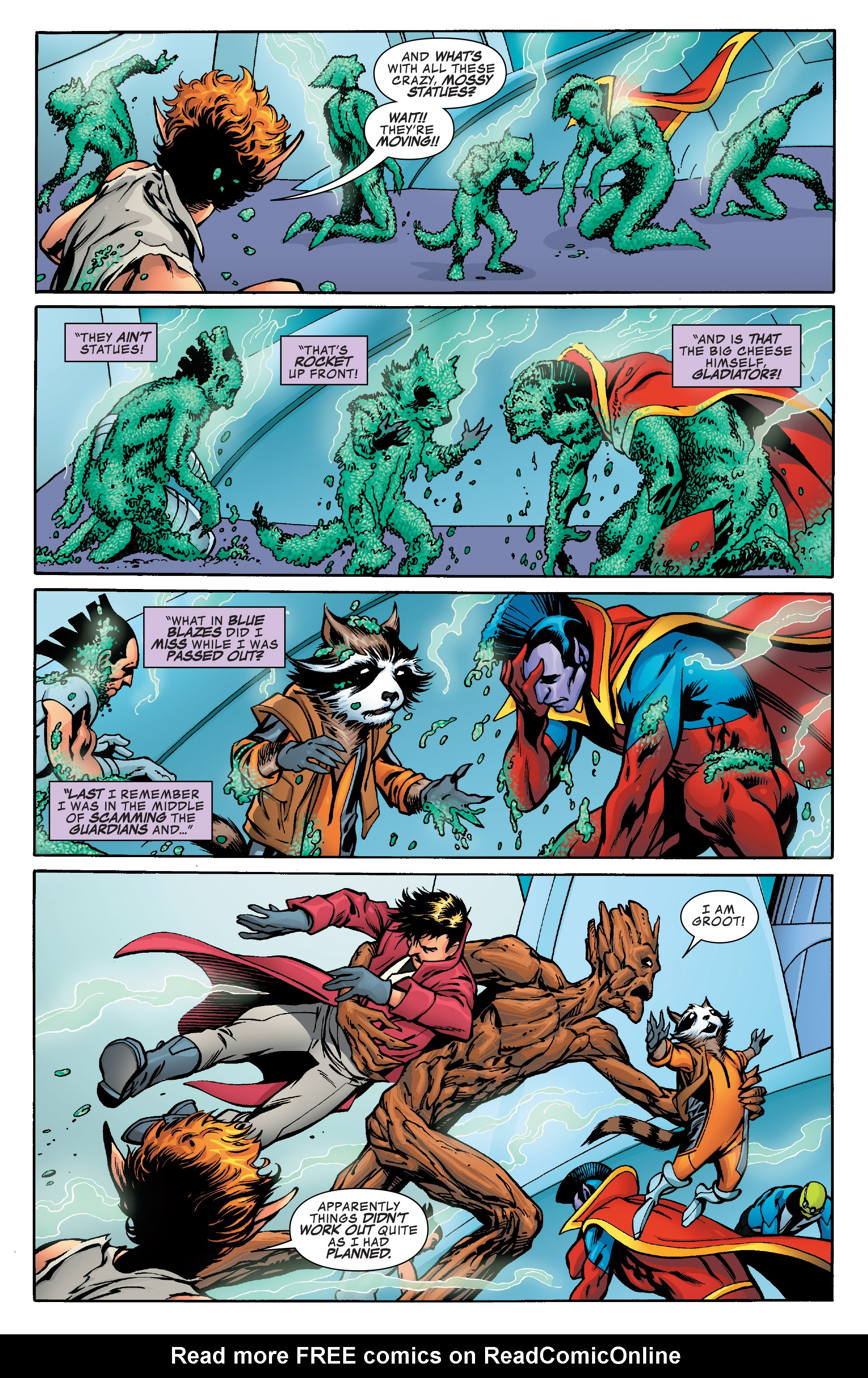 Read online Guardians of the Galaxy: Mother Entropy comic -  Issue #5 - 15