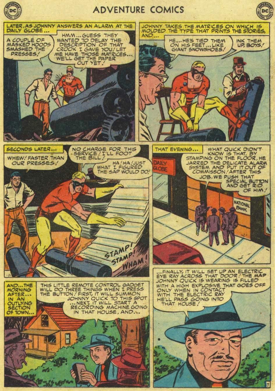 Read online Adventure Comics (1938) comic -  Issue #167 - 31