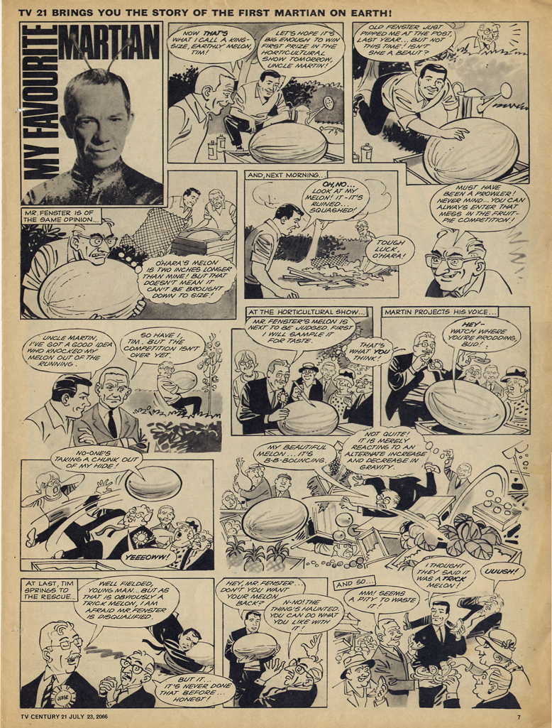 Read online TV Century 21 (TV 21) comic -  Issue #79 - 7