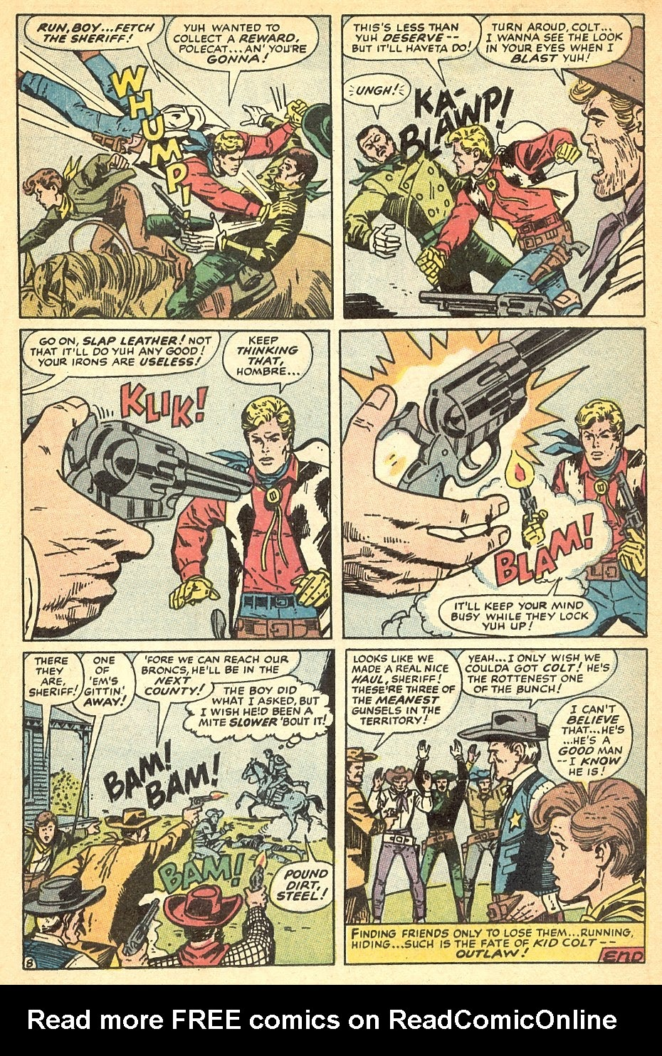 Kid Colt Outlaw issue 140 - Page 13