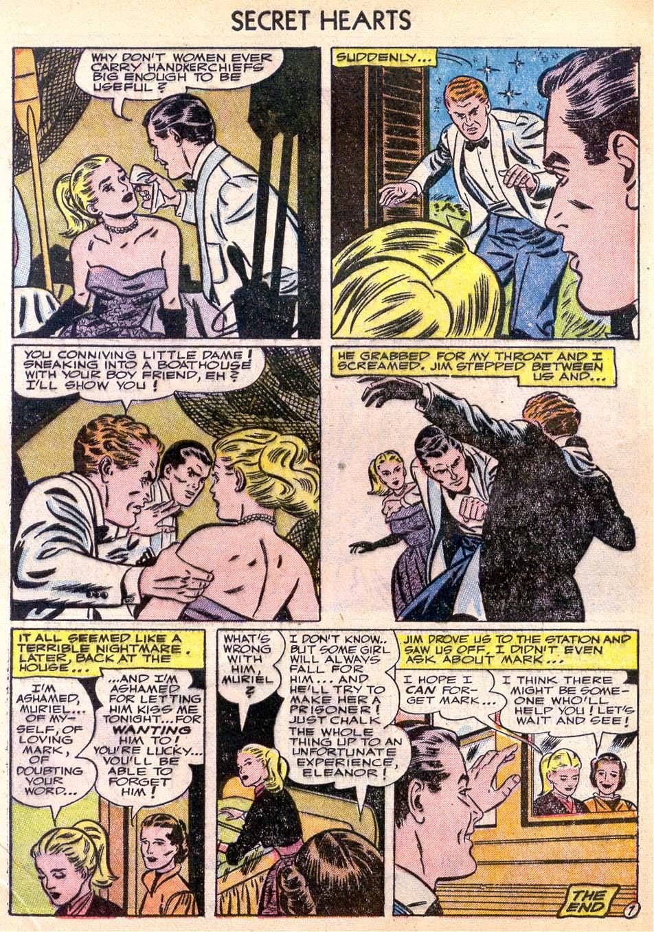 Read online Secret Hearts comic -  Issue #11 - 9