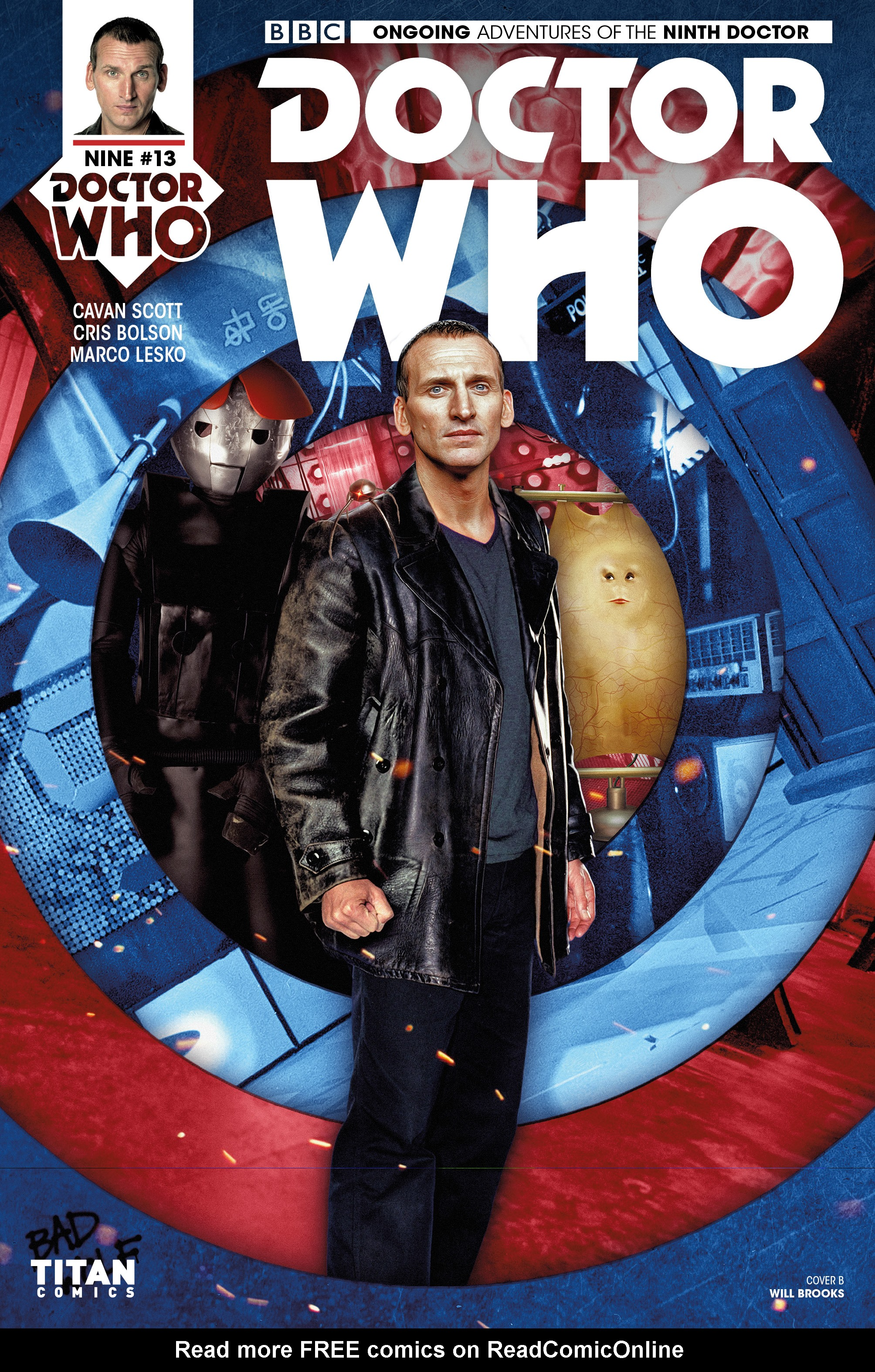 Read online Doctor Who: The Ninth Doctor (2016) comic -  Issue #13 - 2