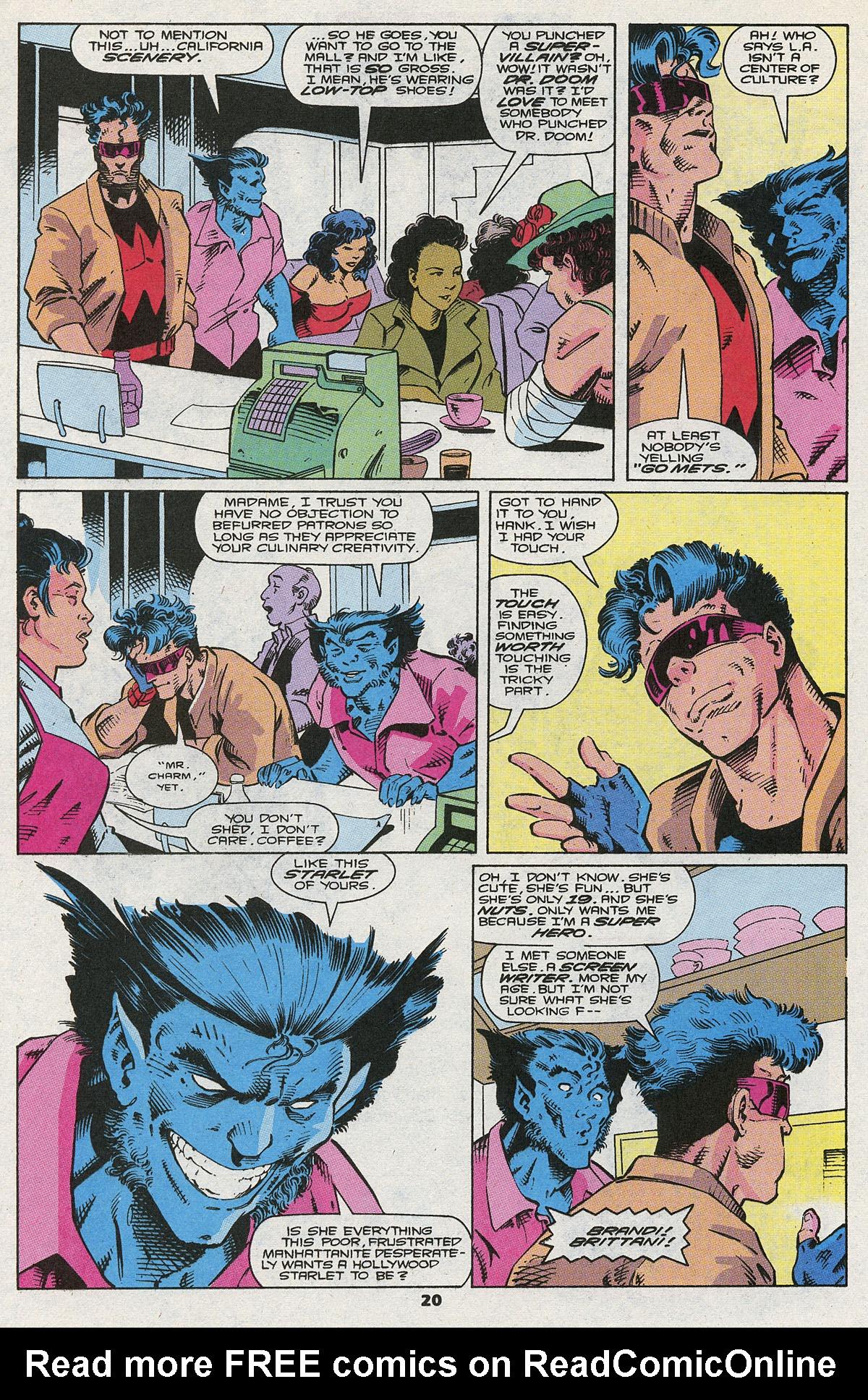 Read online Wonder Man (1991) comic -  Issue #5 - 16