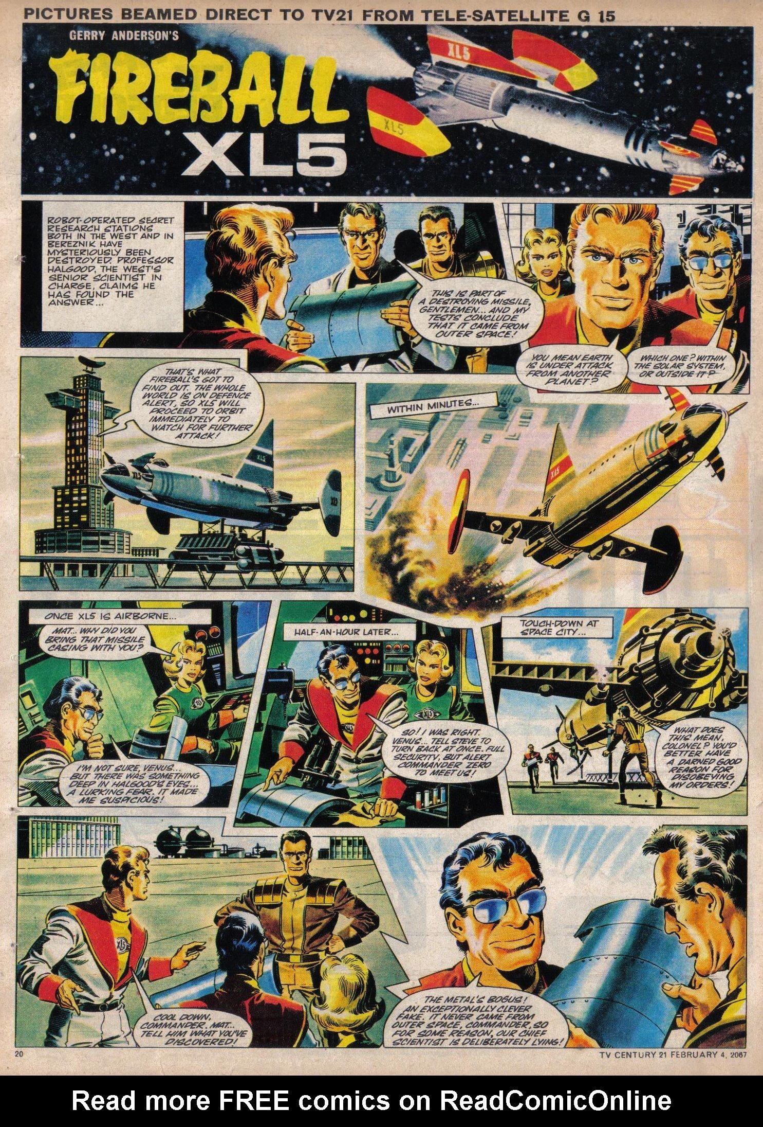 Read online TV Century 21 (TV 21) comic -  Issue #107 - 19