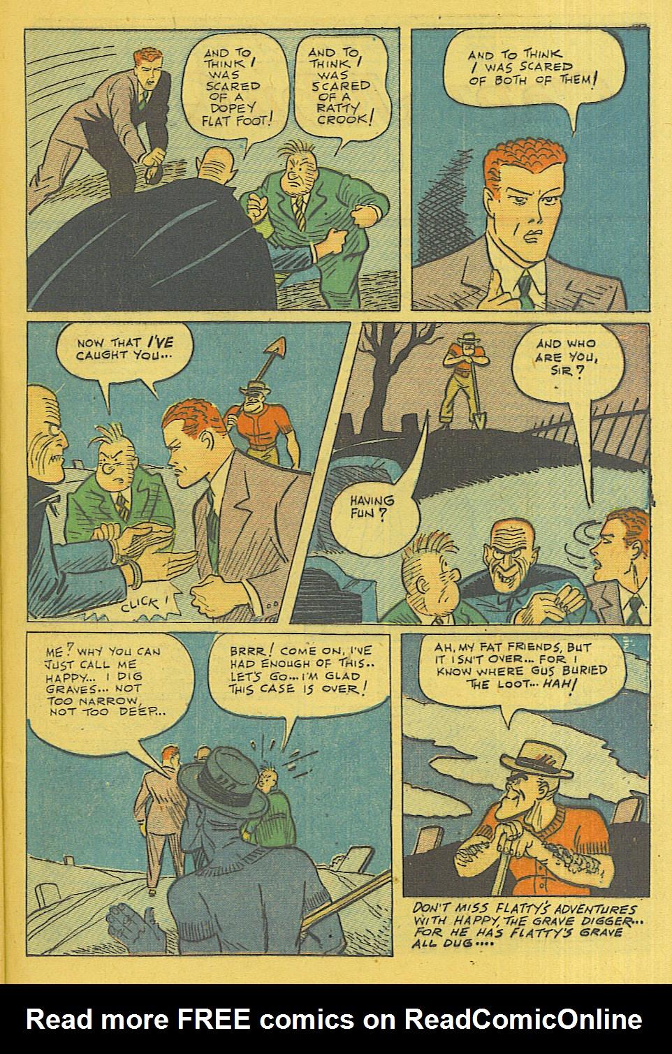 Read online Shadow Comics comic -  Issue #71 - 31