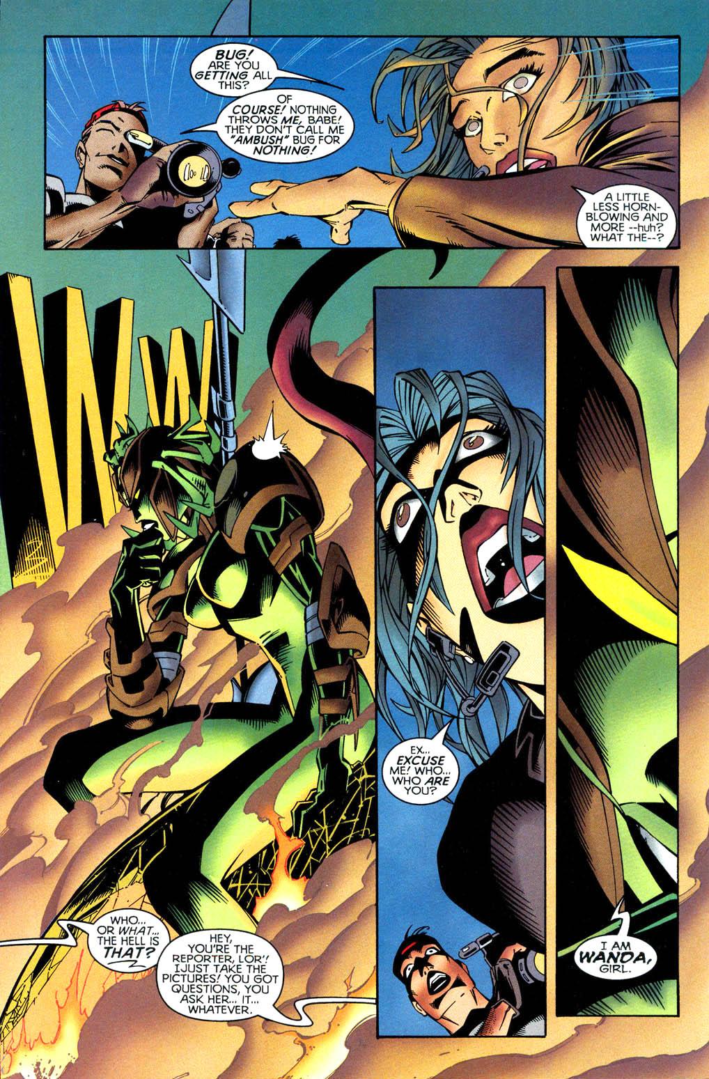 Read online Tangent Comics/ Wonder Woman comic -  Issue # Full - 5