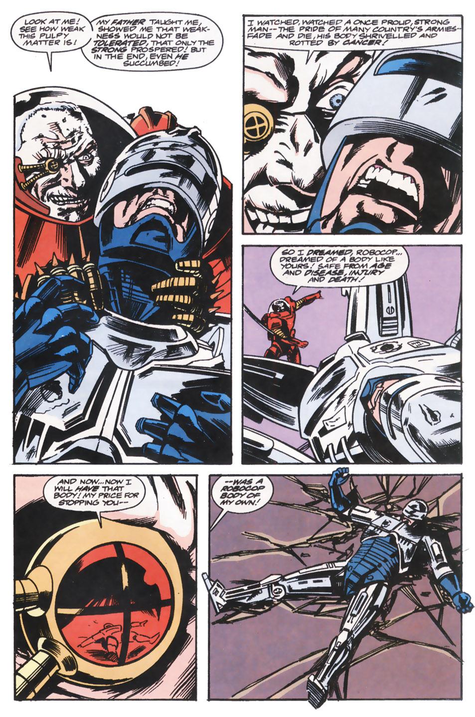 Read online Robocop (1990) comic -  Issue #14 - 17