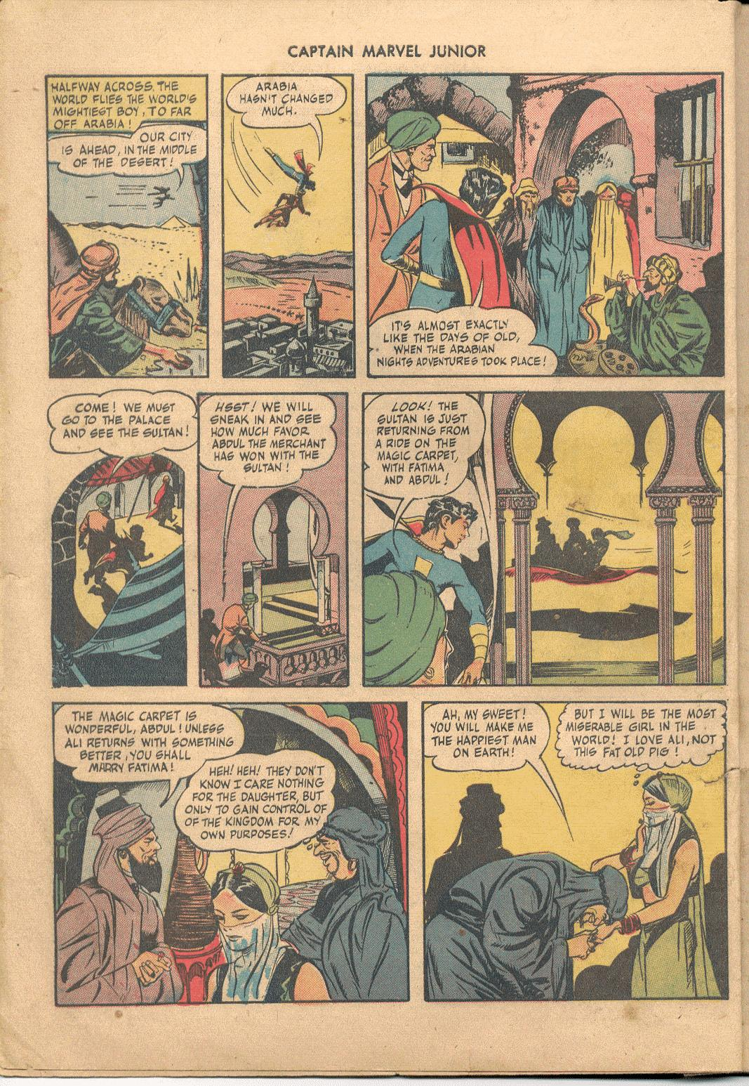 Captain Marvel, Jr. issue 38 - Page 5