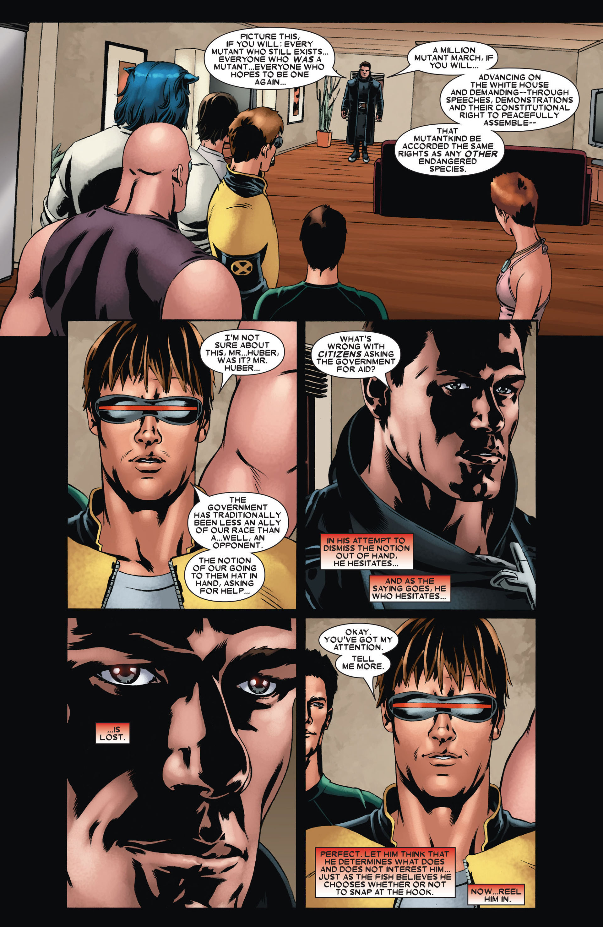 Read online X-Factor (2006) comic -  Issue #23 - 7