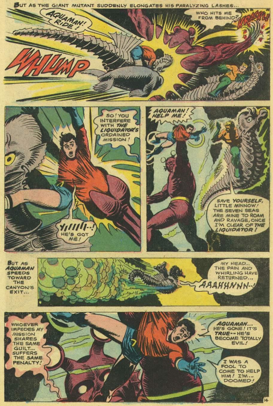 Read online Aquaman (1962) comic -  Issue #38 - 20