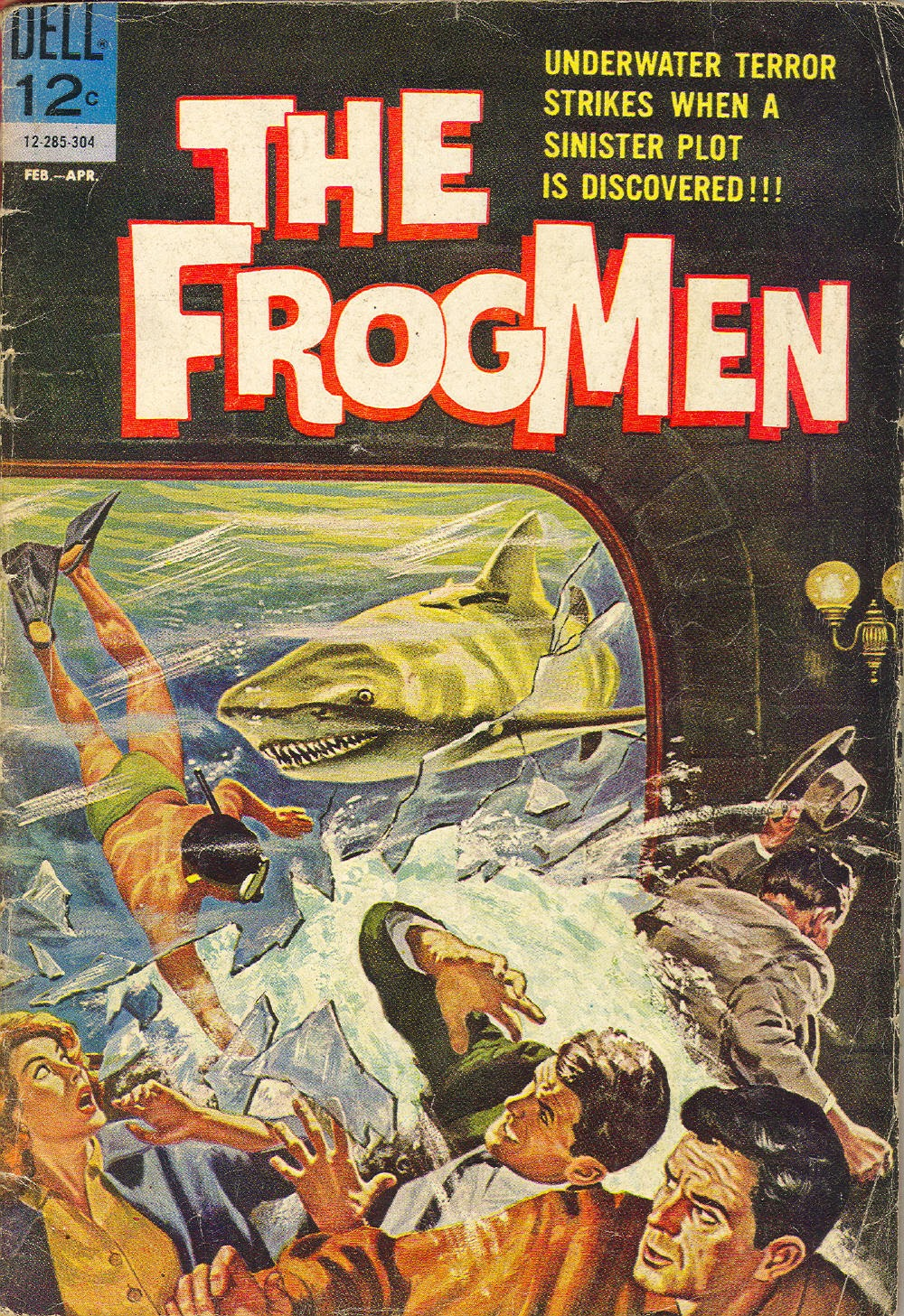 The Frogmen 4 Page 1