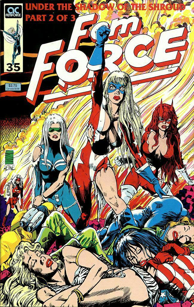 Femforce 35 Page 1