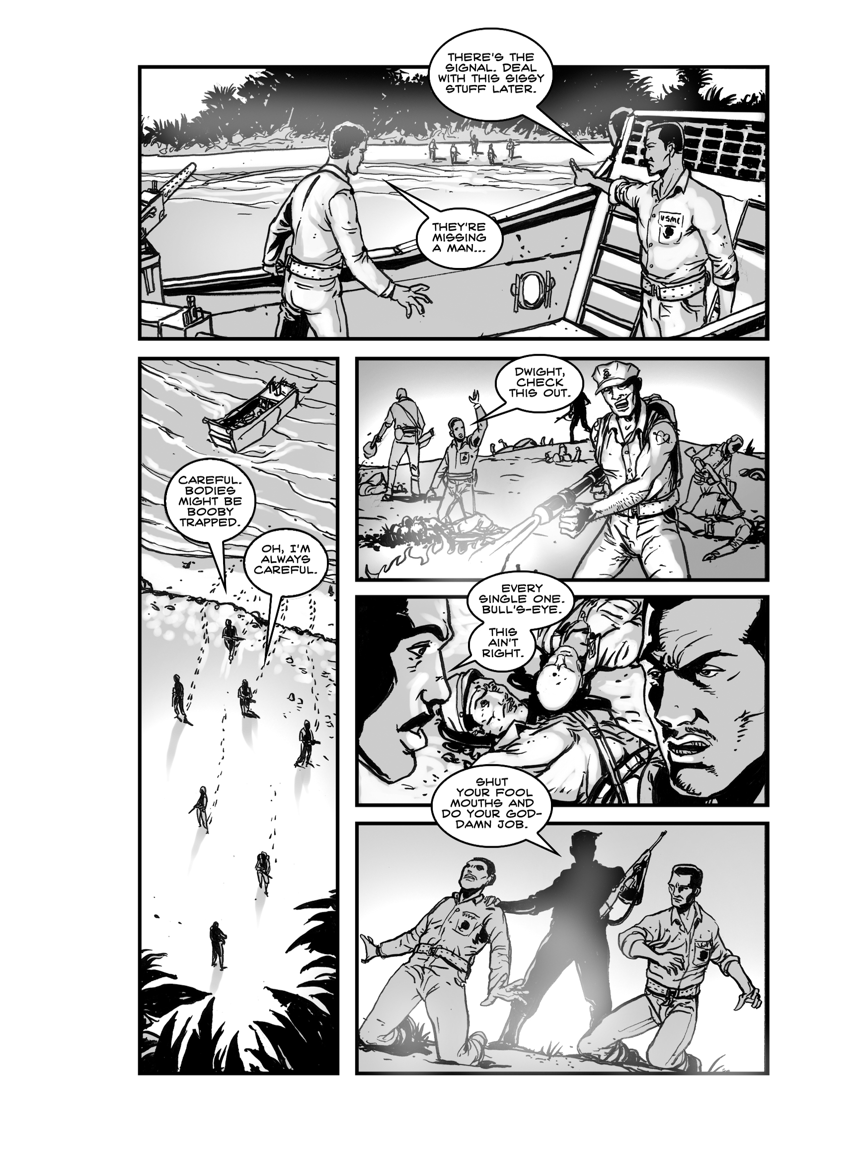 Read online FUBAR comic -  Issue #2 - 202